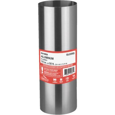NorWesco 10 In. x 50 Ft. Mill Aluminum Roll Valley Flashing