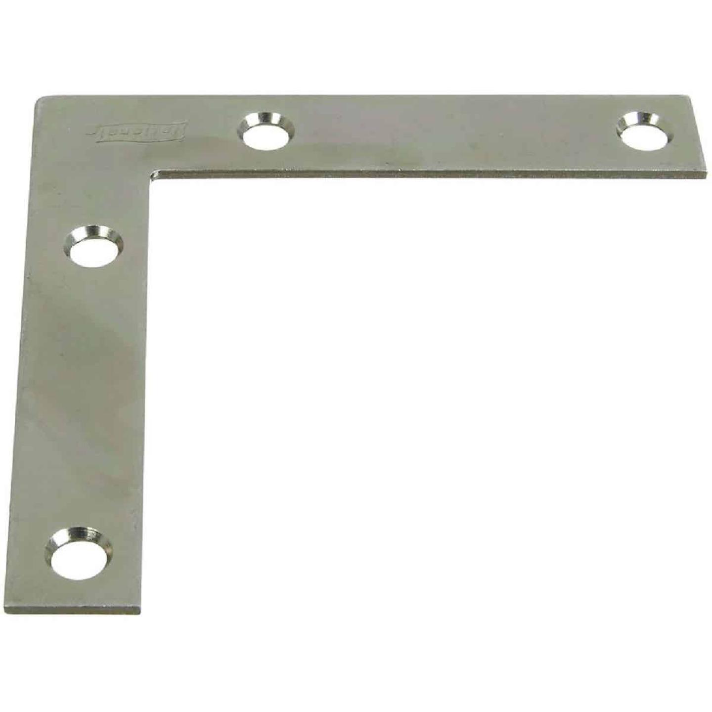 National Catalog 117 3-1/2 In. x 5/8 In. Zinc Flat Corner Iron Image 1