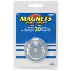 Master Magnetics 20 Lb. Magnetic 2 in. Handi-Hook Image 2