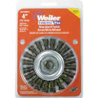 Weiler Vortec 4 In. Stringer Bead 0.014 In. Angle Grinder Wire Wheel Image 2