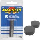 Master Magnetics 1/2 in. Ceramic Magnetic Disc (10-Pack) Image 1