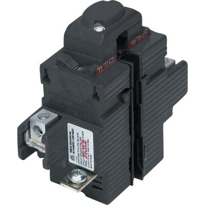 Connecticut Electric 60A Double-Pole Standard Trip Packaged Replacement Circuit Breaker For Pushmatic