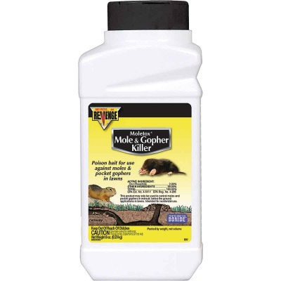 Bonide Moletox II 8 Oz. Corn Pellets Mole & Gopher Killer