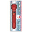 Maglite 27 Lm. Xenon 2D Flashlight, Red Image 2